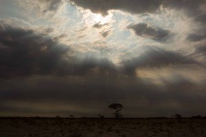Kalahari Winter Clouds