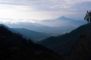 Colombian Andes: Western Cordillera Looking West