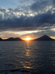 Sunset Over Wittu Islands , Bismarck Sea