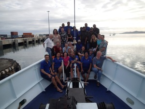 Fellow divers and crew of the Nai'a